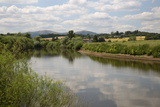 River Severn and the Malvern Hills, Near Kempsey, Worcestershire, England, United Kingdom, Europe Photographic Print by Stuart Black