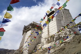 Namgyal Tsemo Gompa, Leh, Ladakh, India, Asia Photographic Print by Peter Barritt