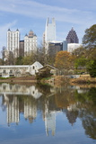 Midtown Skyline from Piedmont Park, Atlanta, Georgia, United States of America, North America Photographic Print by Gavin Hellier