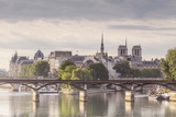 The Pont Des Arts with Ile De La Cite in the Background, Paris, France, Europe Photographic Print by Julian Elliott