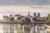 The Pont Des Arts with Ile De La Cite in the Background, Paris, France, Europe Photographic Print by Julian Elliott