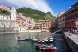 Vernazza, Cinque Terre, UNESCO World Heritage Site, Liguria, Italy, Europe Photographic Print by Peter Groenendijk