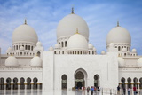 Sheikh Zayed Grand Mosque, Abu Dhabi, United Arab Emirates, Middle East Photographic Print by Jane Sweeney