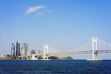 City Skyline and Gwangang Bridge, Busan, South Korea, Asia Photographic Print by Christian Kober