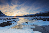 River, Abisko National Park, Helsinki, Finland, Scandinavia, Europe Photographic Print by Christian Kober