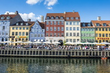 Nyhavn, 17th Century Waterfront, Copenhagen, Denmark, Scandinavia, Europe Photographic Print by Michael Runkel