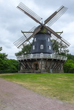 Traditional Swedish Windmill, Malmo, Sweden, Scandinavia, Europe Photographic Print by Charlie Harding