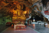 Perak Tong Cave Temple, Kinta Valley, Ipoh, Perak, Malaysia, Southeast Asia, Asia Photographic Print by Jochen Schlenker