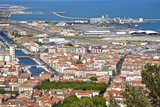 Port and Town, Sete, Herault, Languedoc-Roussillon Region, France, Europe Photographic Print by Guy Thouvenin