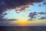 Sugar Beach Sunset, Bantayan Island, Cebu, the Visayas, Philippines, Southeast Asia, Asia Photographic Print by Christian Kober