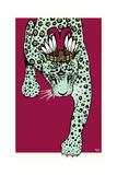 Sacred Jaguar Poster af Billy Perkins