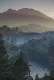 Landscape, Rio Lanquin, Lanquin, Guatemala, Central America Photographic Print by Colin Brynn