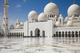 Sheikh Zayed Grand Mosque, Abu Dhabi, United Arab Emirates, Middle East Photographic Print by Jane Sweeney
