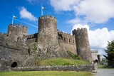 Conwy Castle, UNESCO World Heritage Site, Wales, United Kingdom, Europe Photographic Print by Peter Groenendijk