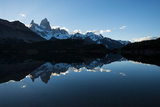 Last Light on the Fitz Roy Mountain Range Photographic Print by Ben Pipe