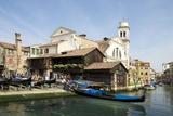 Squero Di San Trovaso, Gondola Boatyard, Dorsoduro, Veniceveneto, Italy, Europe Photographic Print by Peter Barritt
