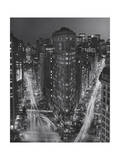 Flatiron Building, New York City at Night 3 Photographic Print by Henri Silberman