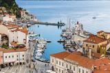 Port of Piran (Luka Piran), Primorska, Slovenian Istria, Slovenia, Europe Photographic Print by Matthew Williams-Ellis