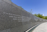 Exterior View of the Martin Luther King Memorial Photographic Print by Michael Nolan