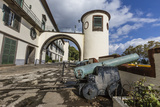 Cannon at the Palacio De Sao Lourenco in the Heart of the City of Funchal, Madeira, Europe Photographic Print by Michael Nolan