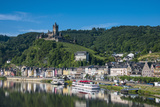 View over Cochem, Moselle Valley, Rhineland-Palatinate, Germany, Europe Photographic Print by Michael Runkel