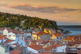 Old Town Rooftops, Piran, Primorska, Slovenian Istria, Slovenia, Europe Photographic Print by Alan Copson