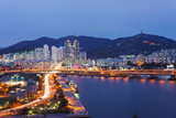 City Skyline, Busan, South Korea, Asia Photographic Print by Christian Kober