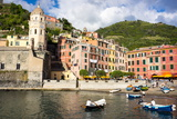Vernazza, Cinque Terre, UNESCO World Heritage Site, Liguria, Italy, Europe Photographic Print by Peter Groenendijk