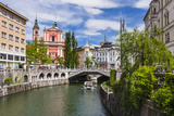 Ljubljanica River Photographic Print by Matthew Williams-Ellis