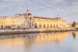 Musee D'Orsay on the River Seine, Paris, France, Europe Photographic Print by Julian Elliott