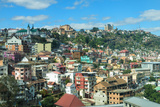 View over a Hillside, Antananarivo, Madagascar, Africa Photographic Print by G&M Therin-Weise