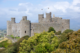 Harlech Castle, Dating from the 13th and 14th Centurieswales Photographic Print by Peter Groenendijk