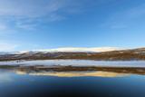 Lake, Abisko National Park, Helsinki, Finland, Scandinavia, Europe Photographic Print by Christian Kober