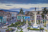 Plaza De Marta, Santiago De Cuba, Santiago De Cuba Province, Cuba, West Indies, Caribbean Photographic Print by Jane Sweeney