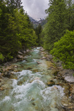Soca River in the Soca Valley Photographic Print by Matthew Williams-Ellis