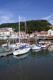 The Old Harbour, Sandside and Castle Hill, Scarborough, North Yorkshire, Yorkshire, England Photographic Print by Mark Sunderland