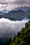 View of Lake Bled from Lake Bled Castle Fotografisk trykk av Matthew Williams-Ellis