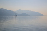 Boat on Aegean Sea, Marmaris, Anatolia, Turkey, Asia Minor, Eurasia Photographic Print by Frank Fell