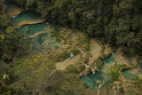 Semuc Champey Waterfalls, Guatemala, Central America Photographic Print by Colin Brynn