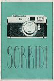 SORRIDI (Italian -  Smile) Posters