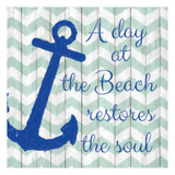 A Day At The Beach Prints by Taylor Greene