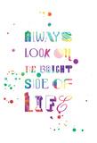 Always Splatter Print by Jace Grey