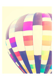Sunflared Hot Air Balloon Posters par Ashley Davis