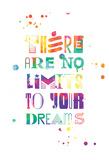 No Limits Splatter Prints by Jace Grey