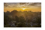 Sunset in Oakland Hills Photographic Print by Henri Silberman