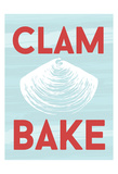 Clam Poster by Laura Lobdell