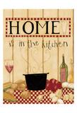 Home Is In The Kitchen Kunst van Dan Dipaolo