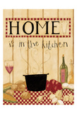 Home Is In The Kitchen Poster by Dan Dipaolo