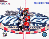 2015 Winter Classic Opening Faceoff Photo