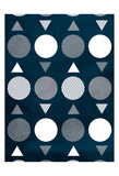 Indigo Movement Prints by Jace Grey